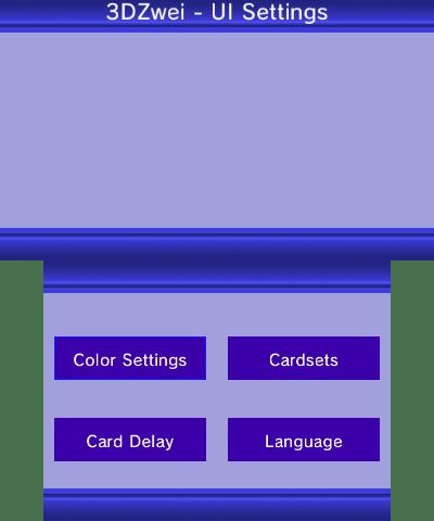 Ui settings