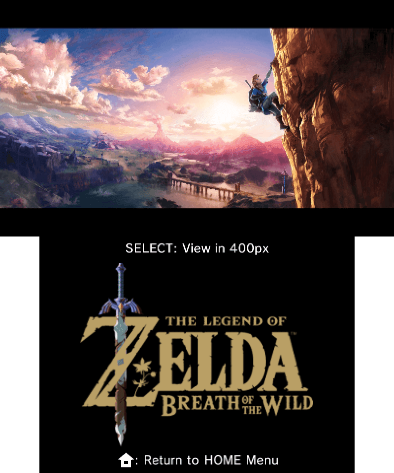 Breath of the wild horihd