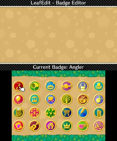 Badge editor