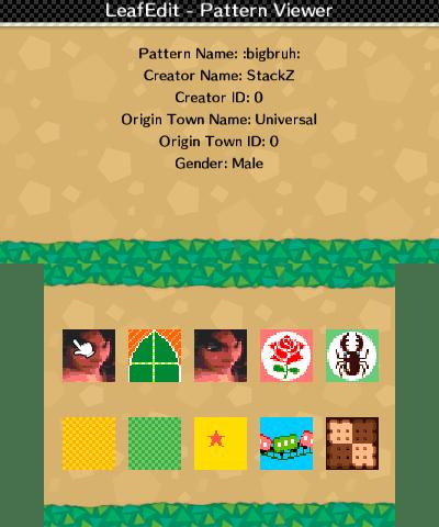 Pattern viewer
