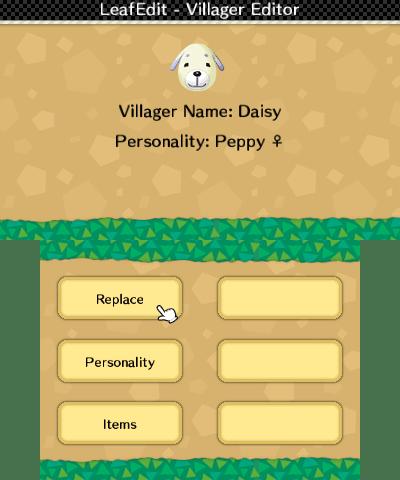 Villager editor