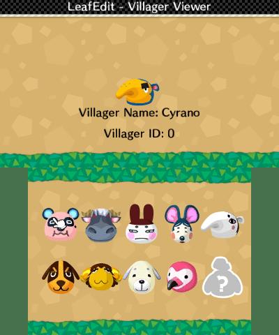 Villager viewer