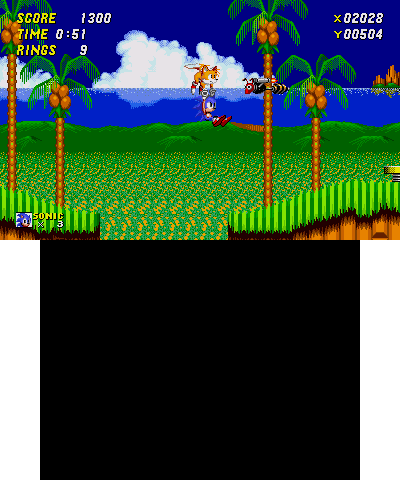 Sonic 2 emeral hill zone