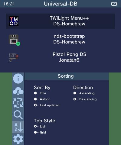 List style